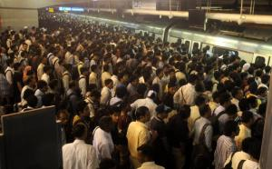 "Rajiv Chowk: Delhi's ""orderly"" pride."